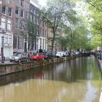 one of the canals behind the hotel