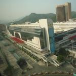 a view from the Room, of the Main Railway Station Complex