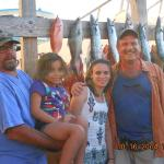 13 Kingfish on 1 trip, busy reels.