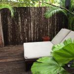 Private deck with outdoor shower (not shown on photo)