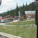On the resort's shuttle to Denali NP