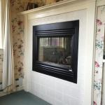 In-room fireplace