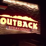 photo of sign on the front of the restaurant