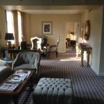 Living room / Dining Room of the St Regis suite