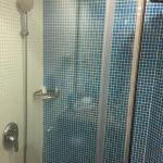 Shower and bath cubicle