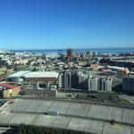 View from the executive lounge on the 19th floor