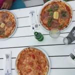 Pizza at Sandhamn Seglarhotell