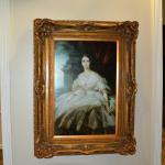 Portrait of Unknown Lady in Lobby
