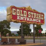entrance to the gold strike, Jean, NV.