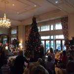Lighting of the Christmas Tree in Grand Lobby