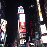 Lights, theatre, action: Times Square - short walk from hotel