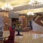 Entrance to hotel and grand room