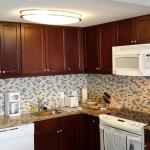 large roomy well equipped kitchen