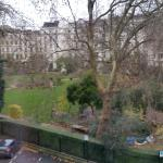 View from Room 420 onto Cleveland Square