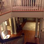 Great angle of the main staircase.