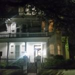 The Queen Anne at night