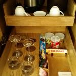Items in the Minibar