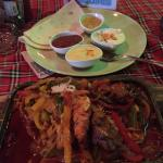 I went to this nice restaurant for dinner in my first night in krabi  It's nice and cool with go