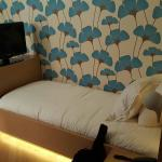 Lovely room and lighting, soft mattress and sumptuous power shower