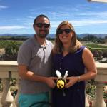 At Domaine Carneros Winery with Napa Bee Driven