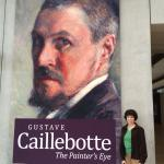 Outside Caillebotte Exhibit