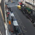 View from Room 506 looking towards Gare du Nord.