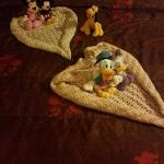 Came back after a long day in Disneyland to my daughters toys and blankets arranged by the staff