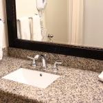 Granite Countertop in all Bathrooms