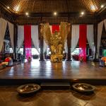 Wantilan Agung stage at the lobby