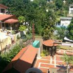 Insecure balcony view.  Loud surrounding slum view around rear of hotel.  Loud dog barking unabl