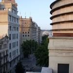 View from room in direction to Catalonia Square