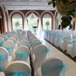 The Orangery, where we married.