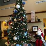 Wonderful Christmas decorations at the Hampton!!!  Thank you, it is appreciated!!!