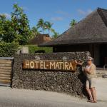 Entrance  to Hotel Matira