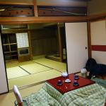 Our room in the main section of the ryokan