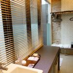 Bathroom - with Safety Deposit Box