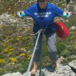 Awesome experience abseiling down Table Mountain