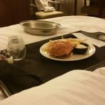 Our room service order.