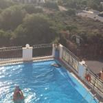 Balcony view of pool - kid friendly