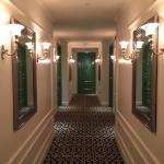 Hall to rooms