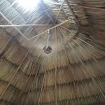 Excellent ceiling fan in our hut