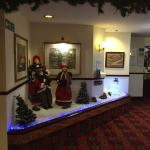 Christmas at Eden Arms hotel.
