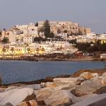 View of the lovely town of Naxos