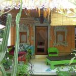 the Balinese style bungalow with private terrace