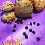 We sell Chocolate Chip, Oatmeal & Coconut Macaroon Cookies too!