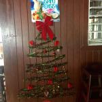 Christmas cheer at the Chicken Shack