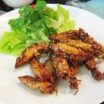 Crispy squid, but more chewy than crispy