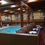 Party area and swimming pool