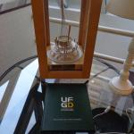 Special award displayed in the hotel (Best Hotel School of Europe).