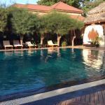 Pool in neighbouring hotel for guest use